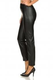 Patrizia Pepe |  Faux leather pants Mara | black  | Picture 4