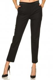 Patrizia Pepe |  Classic trousers Tesha | black  | Picture 2