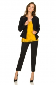 Patrizia Pepe |  Classic trousers Tesha | black  | Picture 3