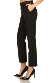 Patrizia Pepe |  Classic trousers Tesha | black  | Picture 4