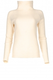 Blaumax | Knitted turtleneck sweater Lena | natural  | Picture 1