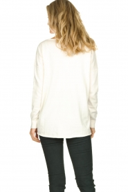 Blaumax |  V-neck sweater Fria | natural  | Picture 5