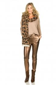 Blaumax |  V-neck sweater Fria | beige  | Picture 3