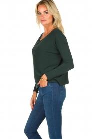 Blaumax |  Lightweight knit Rea | green  | Picture 4