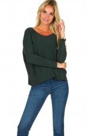 Blaumax |  Lightweight knit Rea | green  | Picture 2