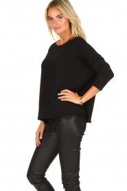 Blaumax |  Lightweight sweater Rea | black  | Picture 2