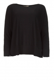 Blaumax |  Lightweight sweater Rea | black  | Picture 1