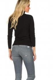 Blaumax |  Basic turtleneck sweater Nova | black  | Picture 5