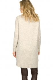 Blaumax |  Tunic cable sweater Anne | beige  | Picture 5