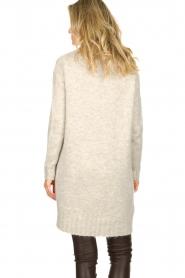 Blaumax |  Tunic sweater Anne | beige  | Picture 5