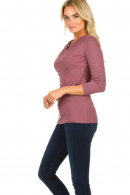 Blaumax |  Sweater with waterfall neckline Piper | old pink  | Picture 3