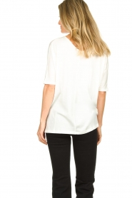 Blaumax |  V-neck Top Finez | natural  | Picture 5