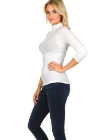 Blaumax |  Turtleneck top Antonia | white  | Picture 3