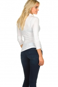 Blaumax |  Turtleneck top Antonia | white  | Picture 4