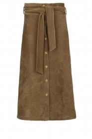 Blaumax |  Corduroy skirt Malea | beige  | Picture 1