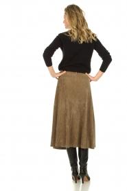 Blaumax |  Corduroy skirt Malea | beige  | Picture 6
