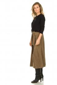 Blaumax |  Corduroy skirt Malea | beige  | Picture 5