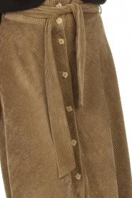 Blaumax |  Corduroy skirt Malea | beige  | Picture 7
