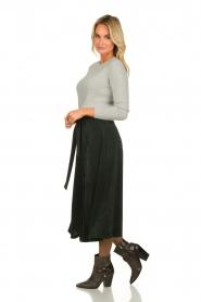 Blaumax |  Corduroy skirt | green  | Picture 4