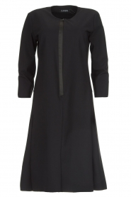 D-ETOILES CASIOPE |  Wrinkle-free stretch dress Soledad | black  | Picture 1