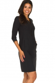 D-ETOILES CASIOPE |  Wrinkle-free stretch dress Soledad | black  | Picture 5