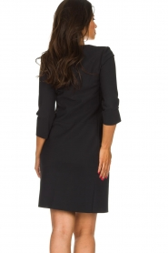 D-ETOILES CASIOPE |  Wrinkle-free stretch dress Soledad | black  | Picture 6