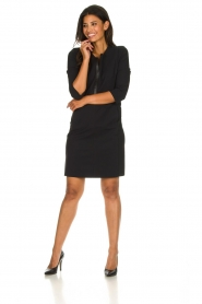 D-ETOILES CASIOPE |  Wrinkle-free stretch dress Soledad | black  | Picture 3