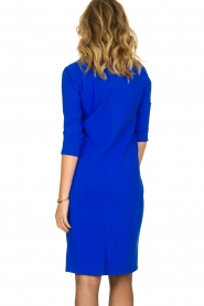 D-ETOILES CASIOPE |  Wrinkle-free stretch dress Soeur | blue  | Picture 5