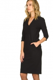 D-ETOILES CASIOPE |  Wrinkle-free stretch dress Soeur | black  | Picture 4
