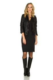 D-ETOILES CASIOPE |  Wrinkle-free stretch dress Soeur | black  | Picture 3