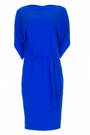 D-ETOILES CASIOPE |  Wrinkle-free stretch dress Sucre | blue  | Picture 1