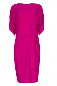 D-ETOILES CASIOPE |  Wrinkle-free stretch dress Sucre | pink  | Picture 1