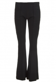 D-ETOILES CASIOPE |  Wrinkle-free stretch trousers Rodez | black  | Picture 1