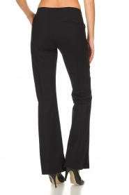 D-ETOILES CASIOPE |  Wrinkle-free stretch trousers Rodez | black  | Picture 6