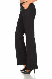 D-ETOILES CASIOPE |  Wrinkle-free stretch trousers Rodez | black  | Picture 5