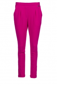 D-ETOILES CASIOPE |  Wrinkle-free stretch trousers Rover | pink  | Picture 1