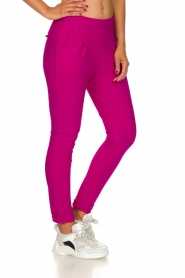 D-ETOILES CASIOPE |  Wrinkle-free stretch trousers Rover | pink  | Picture 4