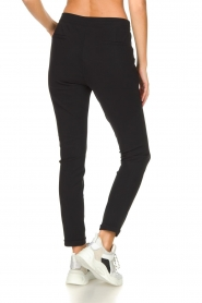 D-ETOILES CASIOPE |  Wrinkle-free stretch trousers Rover | black  | Picture 5
