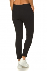 D-ETOILES CASIOPE    Wrinkle-free stretch trousers Rover   black    Picture 5