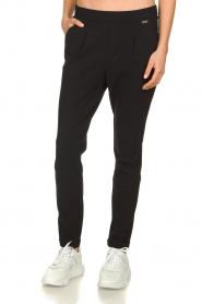 D-ETOILES CASIOPE |  Travelwear  trousers Rover | black  | Picture 4