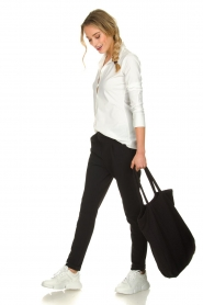 D-ETOILES CASIOPE |  Travelwear  trousers Rover | black  | Picture 3