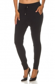 D-ETOILES CASIOPE |  Wrinkle-free stretch trousers Guet | black  | Picture 2