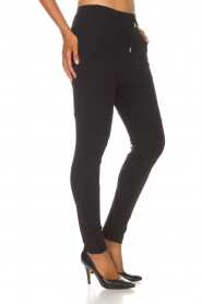 D-ETOILES CASIOPE |  Wrinkle-free stretch trousers Guet | black  | Picture 5