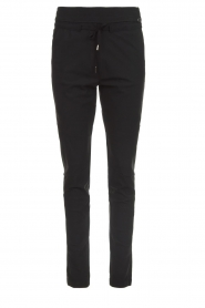 D-ETOILES CASIOPE |  Wrinkle-free stretch trousers Phé Plus | black  | Picture 1