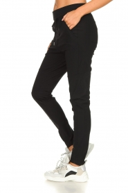 D-ETOILES CASIOPE |  Wrinkle-free stretch trousers Phé Plus | black  | Picture 4