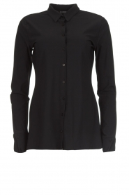 D-ETOILES CASIOPE |  Wrinkle-free stretch blouse Petite | black  | Picture 1