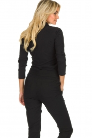 D-ETOILES CASIOPE |  Wrinkle-free stretch blouse Petite | black  | Picture 6