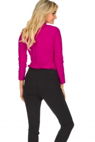 D-ETOILES CASIOPE |  Wrinkle-free stretch blouse Petite | pink  | Picture 7