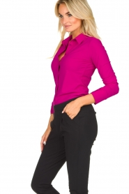 D-ETOILES CASIOPE |  Wrinkle-free stretch blouse Petite | pink  | Picture 6