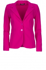 D-ETOILES CASIOPE |  Wrinkle-free stretch blazer Saint | pink  | Picture 1